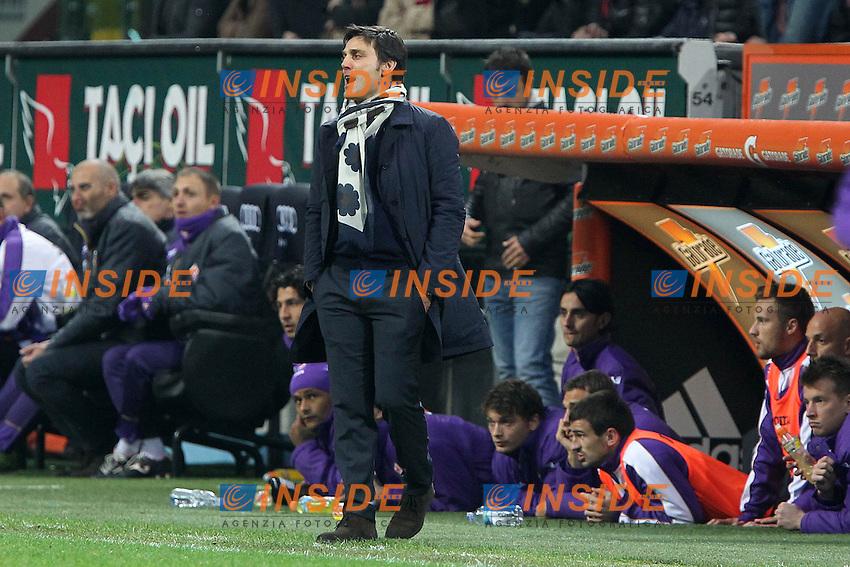 """Vincenzo Montella Fiorentina.Milano 10/11/2012 Stadio """"San Siro"""".Football Calcio Serie A 2012/13.Milan v Fiorentina.Foto Insidefoto Paolo Nucci."""