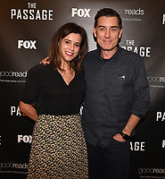 """LOS ANGELES - JANUARY 9: Author Justin Cronin and Executive Producer Liz Heldens attend an advanced screening and Q&A of FOX's """"The Passage"""" at the AMC Century City 15 on January 9, 2019, in Los Angeles, California. (Photo by Frank Micelotta/Fox/PictureGroup)"""