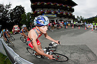 12 JUL 2009 - KITZBUHEL, AUT - Kate Allen - ITU World Championship Series Womens Triathlon.(PHOTO (C) NIGEL FARROW)