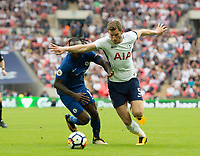 Tottenham's Jan Vertonghen  during the Premier League match between Tottenham Hotspur and Chelsea at Wembley Stadium, London, England on 20 August 2017. Photo by Andrew Aleksiejczuk / PRiME Media Images.