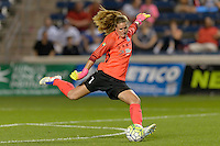 Chicago, IL - Wednesday Sept. 07, 2016: Alyssa Naeher during a regular season National Women's Soccer League (NWSL) match between the Chicago Red Stars and FC Kansas City at Toyota Park.