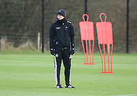 Pictured: Manager Garry Monk Wednesday 10 December 2014<br />
