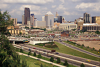 skyline, St. Paul, MN, Minnesota, Twin Cities, View of the downtown skyline of Saint Paul.
