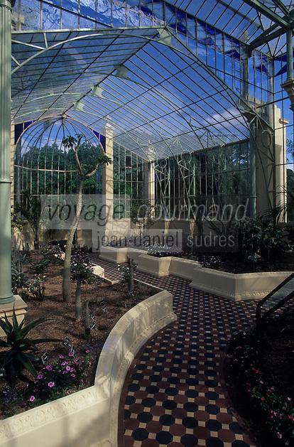 Océanie/Australie/Australie Méridionale/Adelaïde : Jardin botanique - La Maison Tropicale