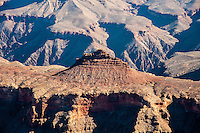 United States, Arizona, Grand Canyon. View from Yaki Point.