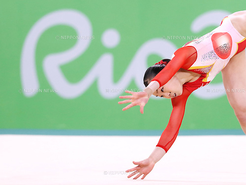 Sae Miyakawa (JPN), <br /> AUGUST 9, 2016 - Artistic Gymnastics : <br /> Women's Final <br /> Floor Exercise <br /> at Rio Olympic Arena <br /> during the Rio 2016 Olympic Games in Rio de Janeiro, Brazil. <br /> (Photo by Sho Tamura/AFLO SPORT)