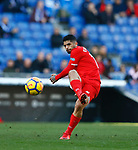 Ever Benega, RCD Espanyol 0 v 3 Sevilla FC, Jornada 20, RCDE Stadium, La Liga Santander 2017/2018. Barcelona. Photo Martin Seras Lima
