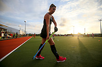 Warmups during the World Hockey League final between the Netherlands and New Zealand. North Harbour Hockey Stadium, Auckland, New Zealand. Sunday 26 November 2017. Photo:Simon Watts / www.bwmedia.co.nz