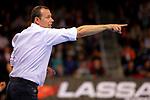 VELUX EHF 2017/18 EHF Men's Champions League Last 16.<br /> FC Barcelona Lassa vs Montpellier HB: 30-28.<br /> Erick Mathe.