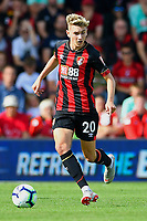 David Brooks of AFC Bournemouth during AFC Bournemouth vs Leicester City, Premier League Football at the Vitality Stadium on 15th September 2018