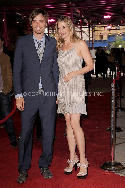 WWW.ACEPIXS.COM . . . . . .April 22, 2011...New York City...Christopher Backus and Mira Sorvino attend the premiere of 'Angel's Crest' during the 2011 Tribeca Film Festival at BMCC Tribeca PAC on April 22, 2011 in New York City....Please byline: KRISTIN CALLAHAN - ACEPIXS.COM.. . . . . . ..Ace Pictures, Inc: ..tel: (212) 243 8787 or (646) 769 0430..e-mail: info@acepixs.com..web: http://www.acepixs.com .