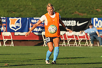 Piscataway, NJ - Wednesday Sept. 07, 2016: Kristin Grubka prior to a regular season National Women's Soccer League (NWSL) match between Sky Blue FC and the Orlando Pride FC at Yurcak Field.
