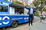 Pat Kiernan NY1 20th Anniversary Food Truck