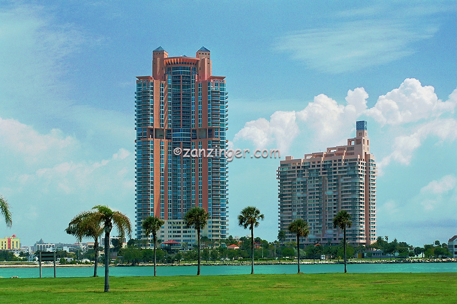 South Point, Miami Beach, Florida, High Rise Buildings