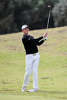 Daniel Hillier. Jennian Homes Charles Tour Autex Muriwai Open, Muriwai Links Golf Course, Muriwai, Auckland, New Zealand,Friday 13 April 2018. Photo: Simon Watts/www.bwmedia.co.nz