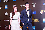 Jessica Jung, and Pakho Chau on the Red Carpet event at the World Celebrity Pro-Am 2016 Mission Hills China Golf Tournament on 20 October 2016, in Haikou, China. Photo by Weixiang Lim / Power Sport Images