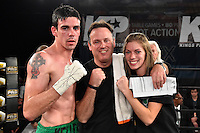 Scott Kelleher fights Jack Grady at the 2300 Arena, Friday, Nov. 20, 2015, in Philadelphia. Kelleher won by a unanimous decision to improve his professional record to 3-0. (Derik Hamilton Images)