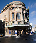 Renovation of former cinema The Forum, St James's Parade, Bath, Somerset, UK was first opened in 1934, architect A.S. Gray built in Art Deco style.