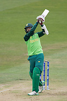 Hashim Amla  (South Africa) brings up his half century with a nick from a big heave during South Africa vs West Indies, ICC World Cup Warm-Up Match Cricket at the Bristol County Ground on 26th May 2019