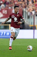 27th October 2019; Olympic Grande Torino Stadium, Turin, Piedmont, Italy; Serie A Football, Torino versus Cagliari; Armando Izzo of Torino FC on the ball - Editorial Use