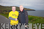 Colman Quirke with Minister Jimmy Deenihan at the Bolus Loop Walk on Sunday last for National Trails Day.
