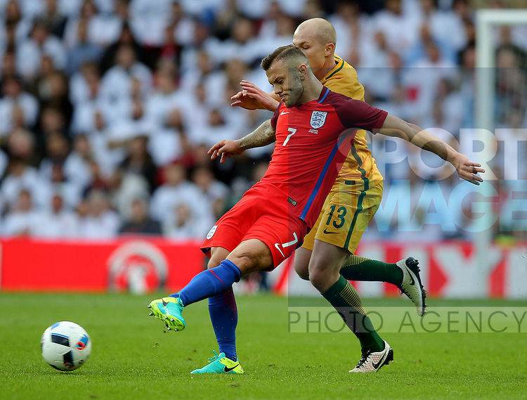 Jack Wilshere of England during the International Friendly match at the Stadium of Light, Sunderland. Photo credit should read: Simon Bellis/Sportimage