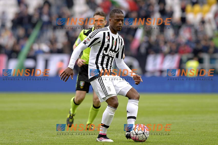 Patrice Evra Juventus,<br /> Torino 01-05-2016, Juventus Stadium, Football Calcio 2015/2016 Serie A, Juventus - Carpi, Foto Filippo Alfero/Insidefoto