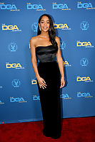 LOS ANGELES, CA. February 02, 2019: Laura Harrier at the 71st Annual Directors Guild of America Awards at the Ray Dolby Ballroom.<br /> Picture: Paul Smith/Featureflash