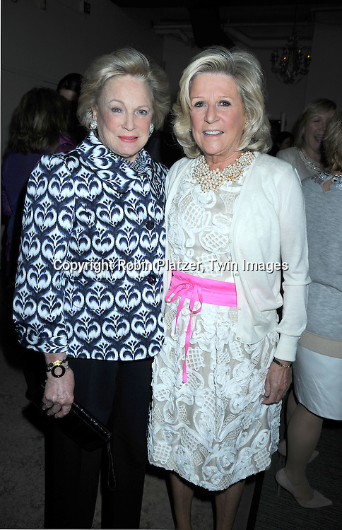 Charlotte Ford and sister Anne Ford attending The  National Center for Learning Disabilities 33rd Annual Benefit Dinner on April 28, 2010 at Tribeca Rooftop in New York City.