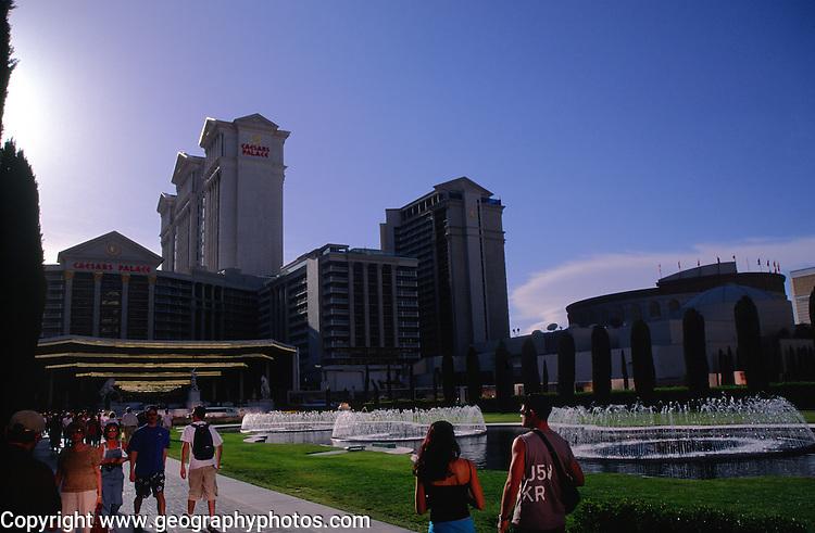 Caesars Palace hotel and casino, The Strip, Las Vegas, Nevada, USA