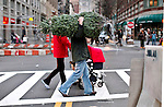 Christmas season begins in New York