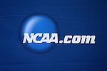 08 December 2012: NCAA logo on the press conference backdrop. The Indiana University Hoosiers held a press conference at Regions Park Stadium in Hoover, Alabama one day before playing in the 2012 NCAA Division I Men's Soccer College Cup championship game.
