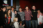 Evan Alex Cole - Valentina de Angelis - Ben Levin - Sarah Wilson - Todd Rotondi - Jon Prescott - Trent Dawson - Colleen Zenk Pinter and Marnie Schulenburg at Trent Dawson's 6th Annual Martinis With Henry on April 17, 2010 at Latitude, New York City, New York. (Photo by Sue Coflin/Max Photos)