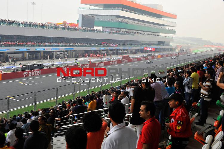 25.-27-10-2013, Jaypee-Circuit, Noida, IND, F1, Grosser Preis von Indien, Noida, im Bild Felipe Massa (BRA), Scuderia Ferrari <br />  Foto &copy; nph / Mathis