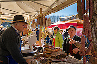 Italy, South Tyrol (Trentino-Alto Adige), Brunico: Stegener Market, every October 26th to 28th | Italien, Suedtirol (Trentino-Alto Adige), Bruneck: Stegener Markt vom 26.-28. Oktober jeden Jahres