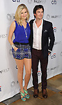 "Maggie Grace and Ian Somerhalder at the 2014 PaleyFest ""Lost"" held at The Dolby Theatre in Los Angeles on March 16, 2014."