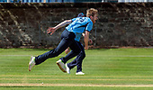 Issued by Cricket Scotland - Tilney Regional Series - Knights V Warriors - Grange CC - Gavin Main - picture by Donald MacLeod - 28.04.19 - 07702 319 738 - clanmacleod@btinternet.com - www.donald-macleod.com