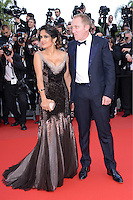 "Salma Hayek and Francois-Henri Pinault attending the ""Madagascar III"" Premiere during the 65th annual International Cannes Film Festival in Cannes, France, 18.05.2012..Credit: Timm/face to face/MediaPunch Inc. ***FOR USA ONLY***"