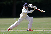 N Jacobs of Ilford during Brentwood CC vs Ilford CC, Shepherd Neame Essex League Cricket at The Old County Ground on 8th June 2019