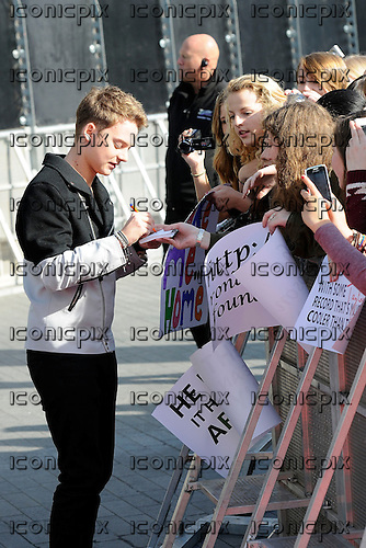 CONOR MAYNARD - RED CARPET ARRIVALS AT THE RADIO 1 TEEN AWARDS held at Wembley Arena in London Uk - 07 Oct 2012.  Photo credit: George Chin/IconicPix