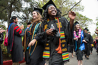 Samarah Jackson. The class of 2015 graduates during Occidental College's 133rd Commencement, the Remsen Bird Hillside Theater, on Sunday, May 17, 2015.<br />