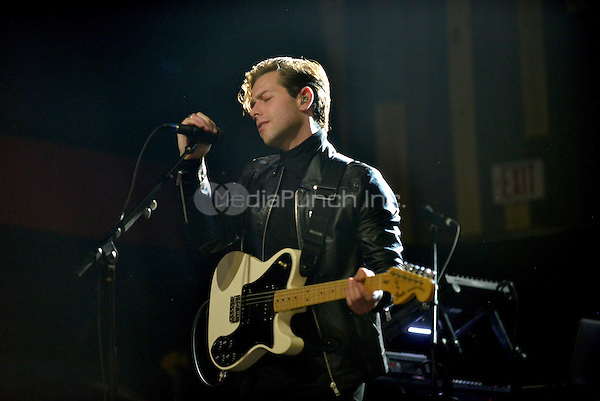FORT LAUDERDALE, FL - DECEMBER 04: Thom Powers of The Naked And Famous perform at Revolution Live on December 4, 2016 in Fort Lauderdale, Florida.  Credit: MPI10 / MediaPunch