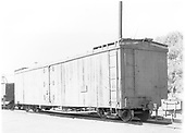 3/4 view of long reefer #160.<br /> D&amp;RGW