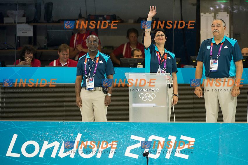 judges.Swimming heats.London 2012 Olympics - Olimpiadi Londra 2012.day 05 July 31.Photo G.Scala/Deepbluemedia.eu/Insidefoto