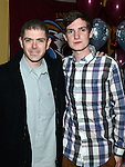 Aaron Reay celebrating his 21st birthday in the thatch with uncle Jason McDonnell. Photo:Colin Bell/pressphotos.ie
