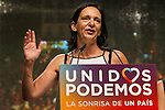 Spanish politician Carolina Bescansa of Unidos Podemos party, after the results of the national elections at plaza Reina Sofia, Spain. 26,06,2016. (ALTERPHOTOS/Rodrigo Jimenez)