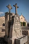 Headstone, Cemetery, Petra, Mallorca