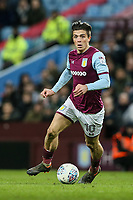 Aston Villa's Jack Grealish breaks<br /> <br /> Photographer Andrew Kearns/CameraSport<br /> <br /> The EFL Sky Bet Championship -  Aston Villa v Queens Park Rangers - Tuesday 13th March 2018 - Villa Park - Birmingham<br /> <br /> World Copyright &copy; 2018 CameraSport. All rights reserved. 43 Linden Ave. Countesthorpe. Leicester. England. LE8 5PG - Tel: +44 (0) 116 277 4147 - admin@camerasport.com - www.camerasport.com