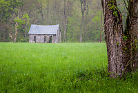 An old school in Lost Valley of the Buffalo National River.