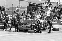 #2 Pontiac driven by Rusty Wallace makes a pit stop during the DieHard 500, NASCAR Winston Cup race, Talladega Superspeedway, July 26, 1992.  (Photo by Brian Cleary/bcpix.com)